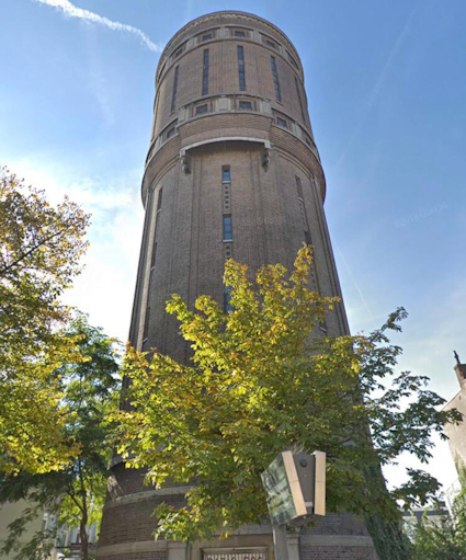 Gestart met transformatie Watertoren te Utrecht