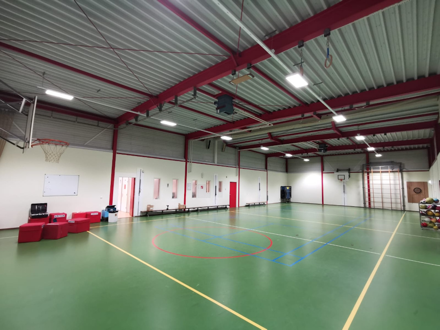 Gymzaal Nnijmegen – Van den Berg Installateurs